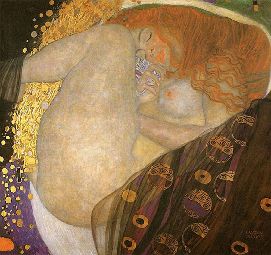 Реальные модели воссоздали знаменитые картины Густава Климта (10 фото) 18+
