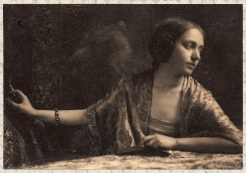 Женские портреты начала 20 века Фрэнка Юджина (16 фото)