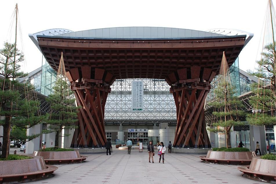 5. Вокзал Канадзава, Канадзава Этот вокзал в японском городе Канадзава является самым старым вокзало