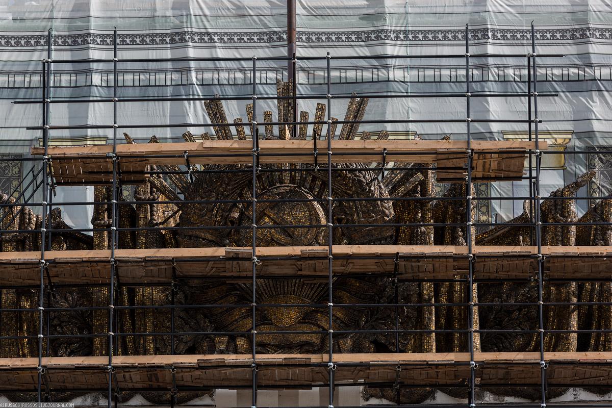 Восстанавливаются все элементы, павильоны получают прежний исторический облик и названия.
