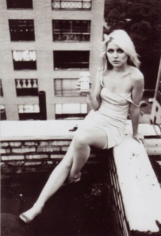 Дебора Харри в 1976 году.