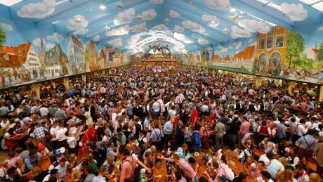 ВГермании открылся пивной фестиваль «Октоберфест»