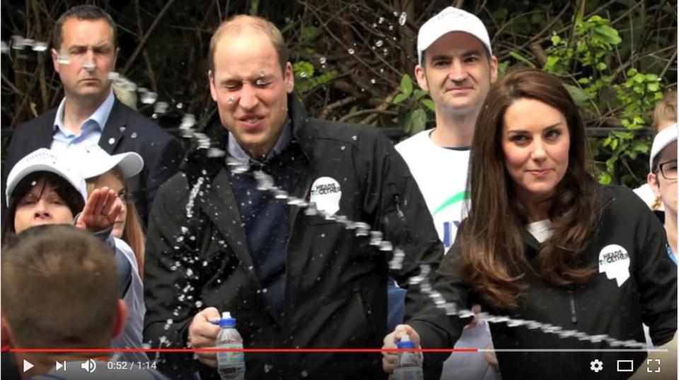 Кейт Миддлтон, принц Уильям ипринц Гарри побывали намасштабном Лондонском марафоне