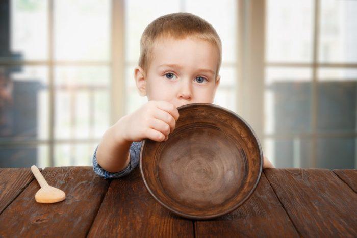 Ученые: нехватка пищи приводит к психологическим расстройствам