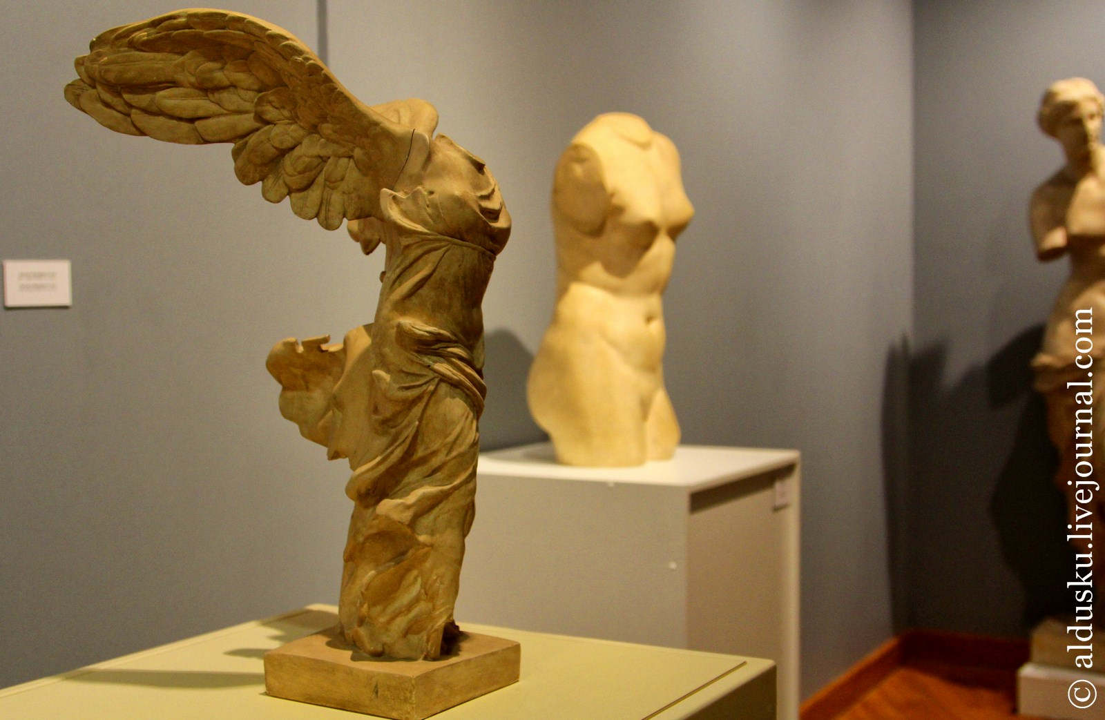 Ника Самофракийская. Греция. ІV–III вв. до н.э.