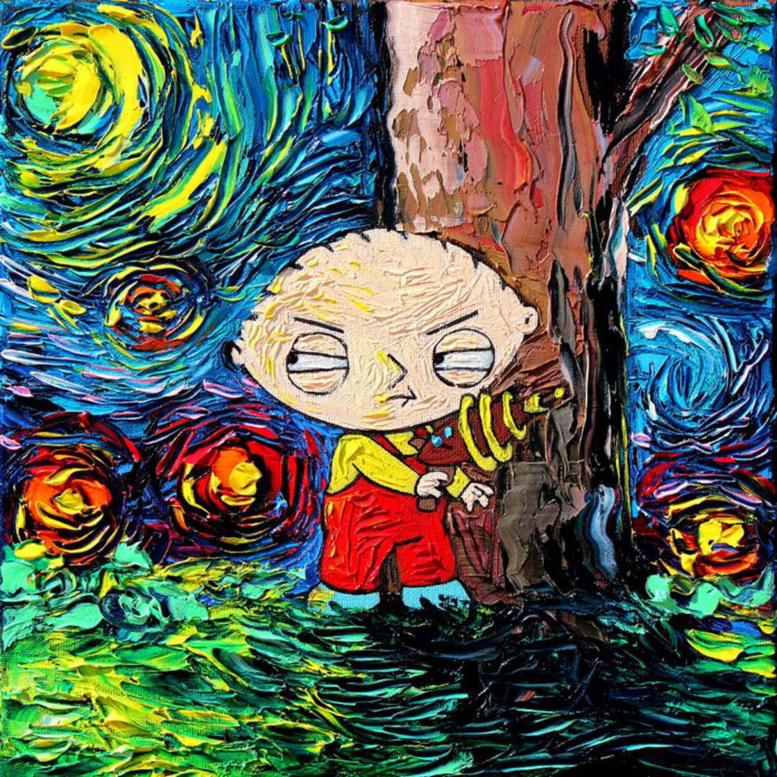 Starry Night - When Van Gogh meets Pop Culture
