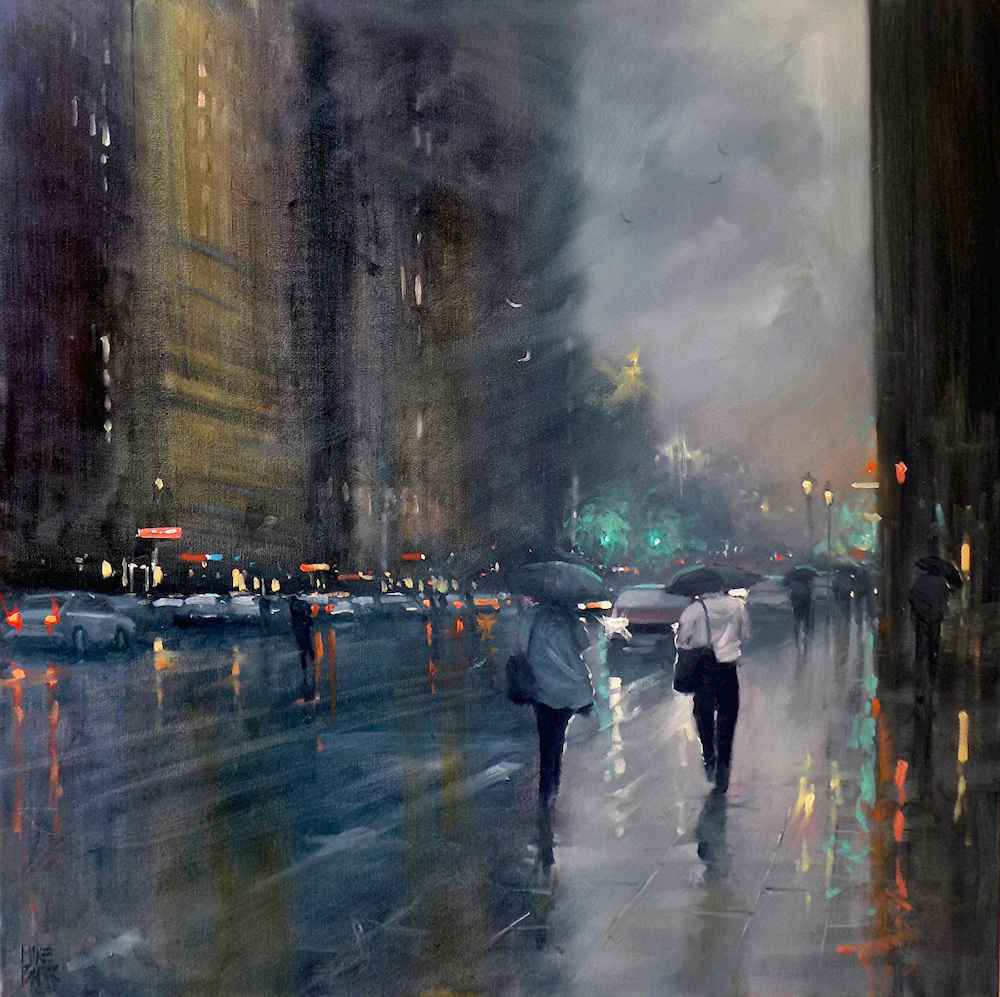 Rainy Australian Cityscapes by Mike Barr (7 pics)