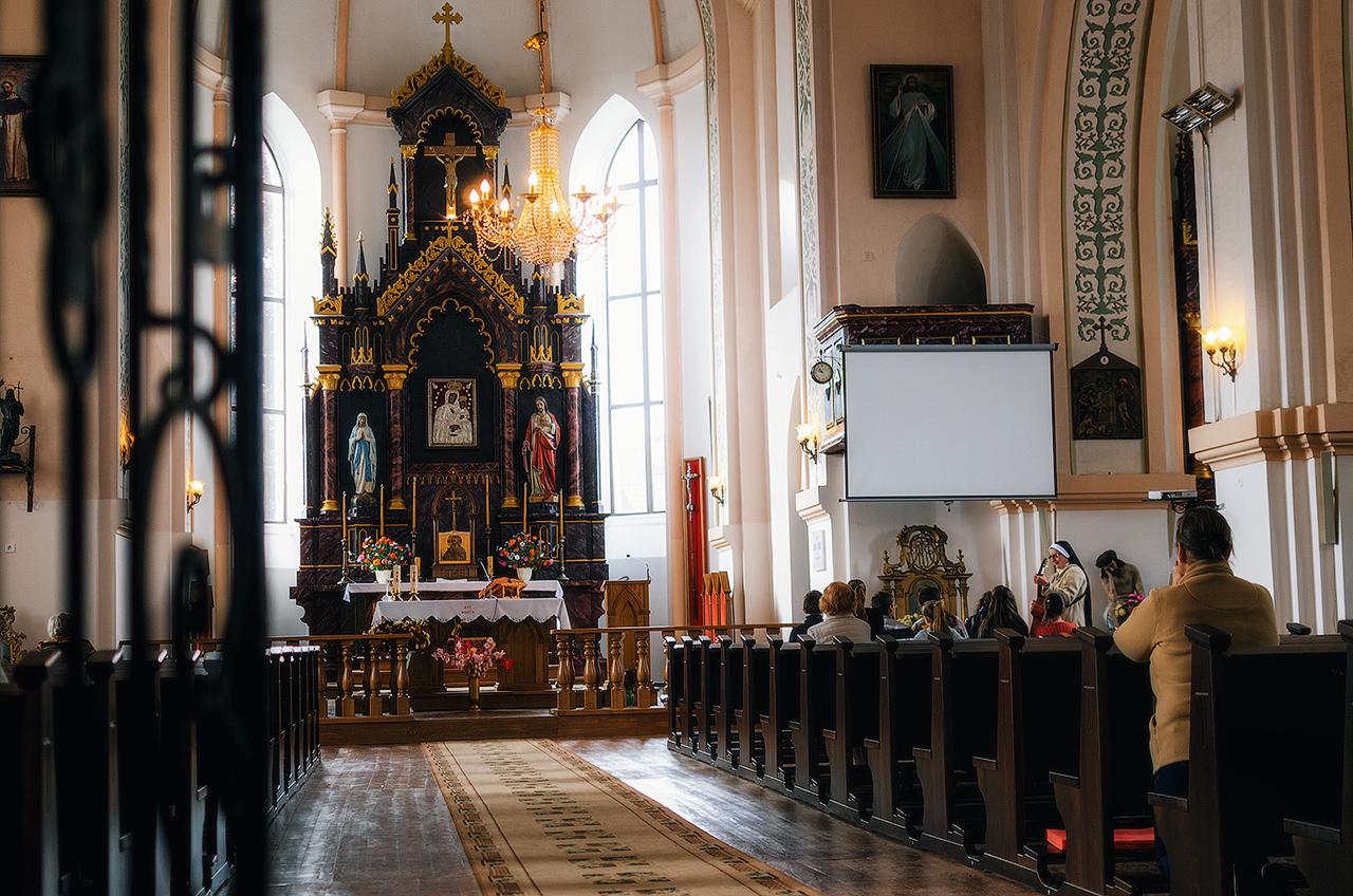 Блогиналибоки. Раков, Беларусь. Костел Богоматери Руженцовой и св. Доминика