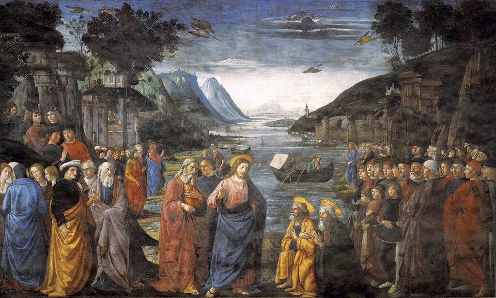 O apelo dos apóstolos Domenico Ghirlandaio.jpg
