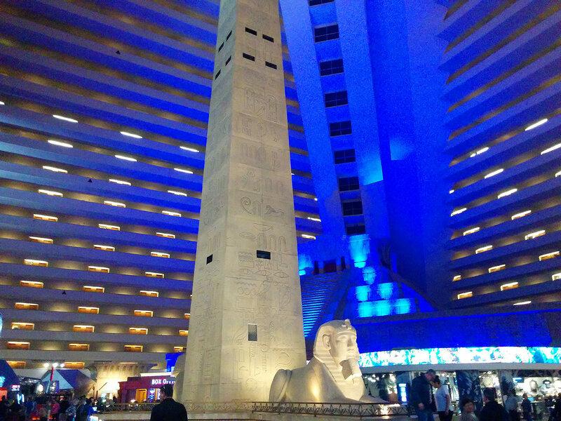 Отель Луксор. Лас-Вегас