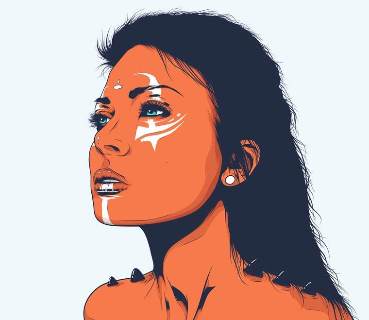 Birth - Les illustrations de Conrado Salinas