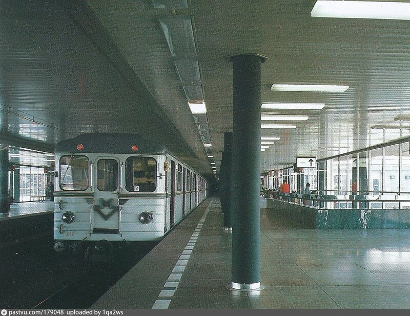 Станция метро Готвальдова (Vyšehrad) 1983-1984.jpg