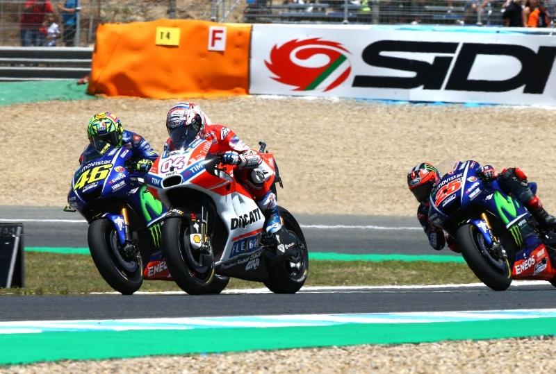 Валентино Росси прокомментировал Гран При Ассена 2017