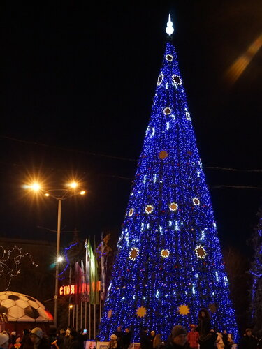 Новогодняя ёлка в Парке Горького