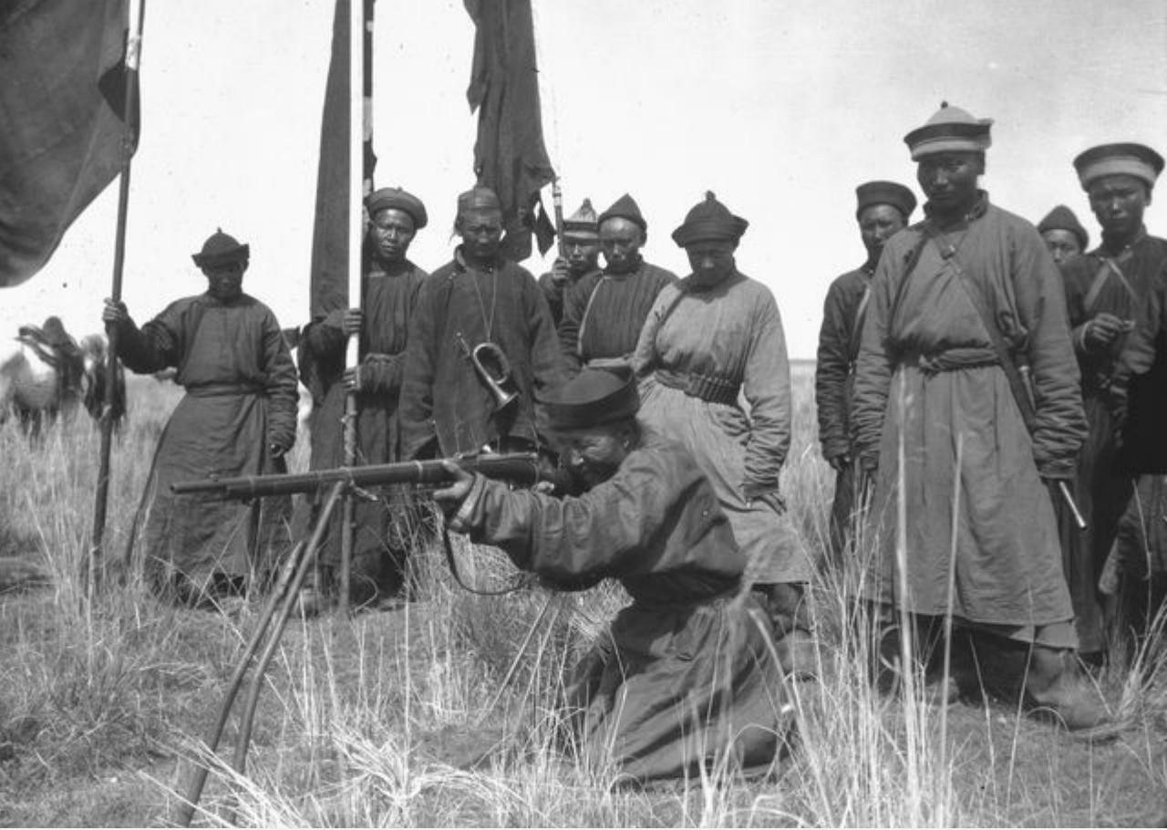 Калмыки в лагере Маннергейма