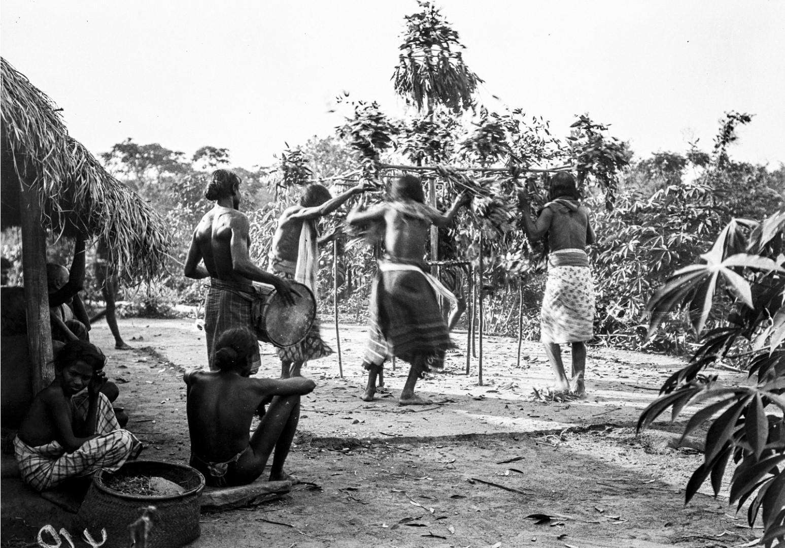 394. Мадугалла. Ритуальный танец лесных веддов