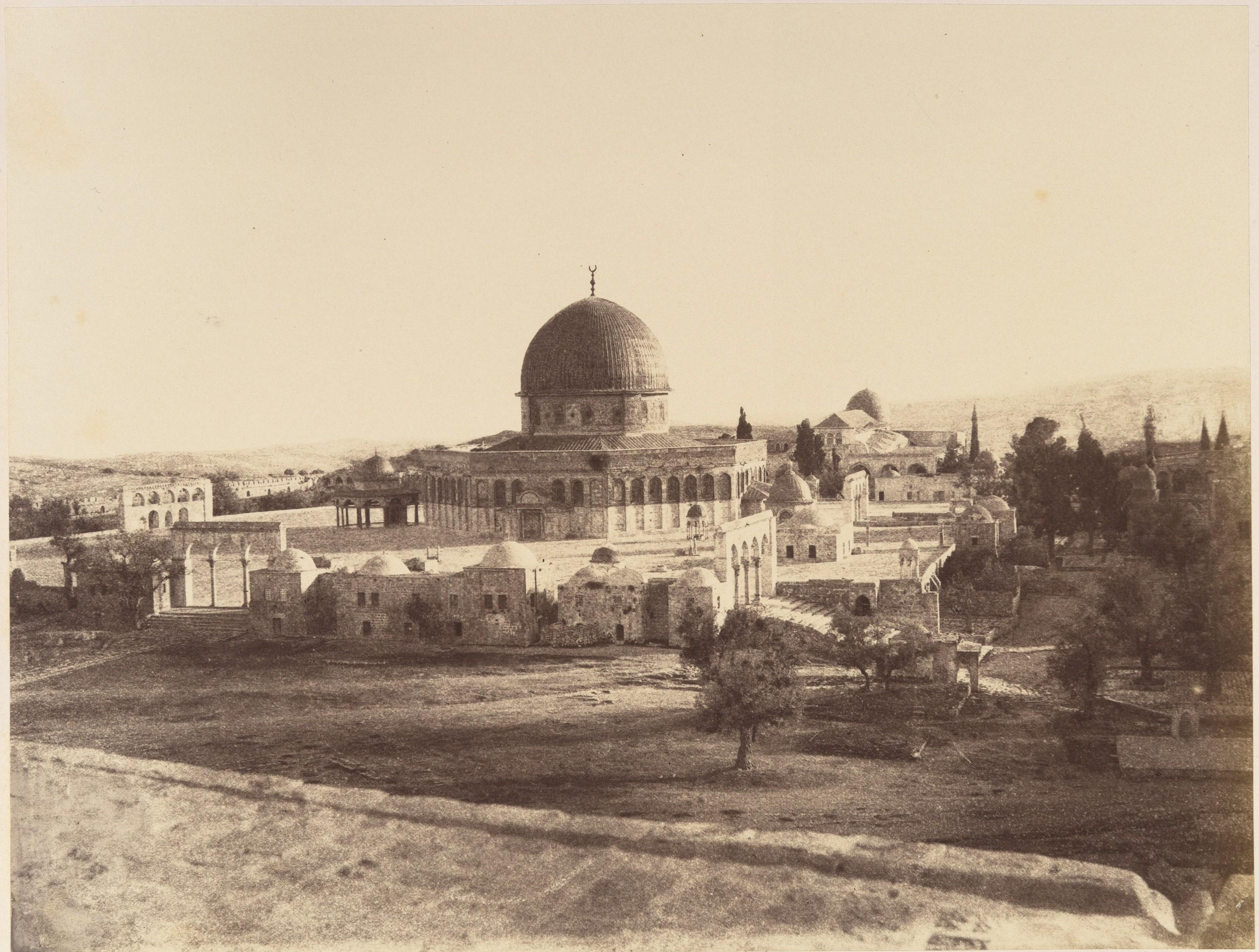 Мечеть Омара, построенная на месте известного Храма Соломона