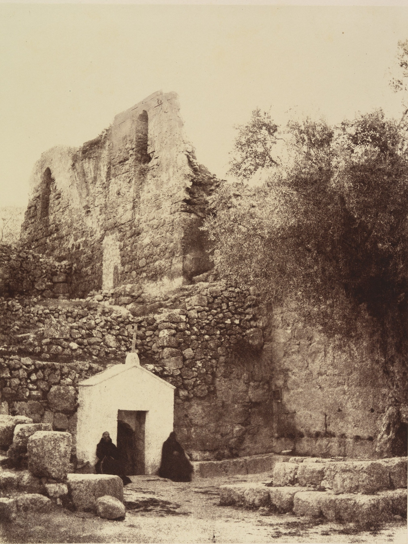 Окрестности Иерусалима.  Монастырь Иоанна Пустынника