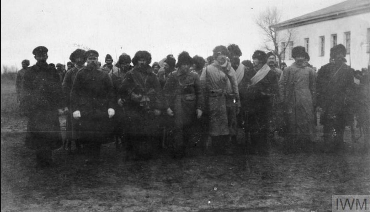 Казаки 3-й взводной бригады 6-й дивизии Донского корпуса