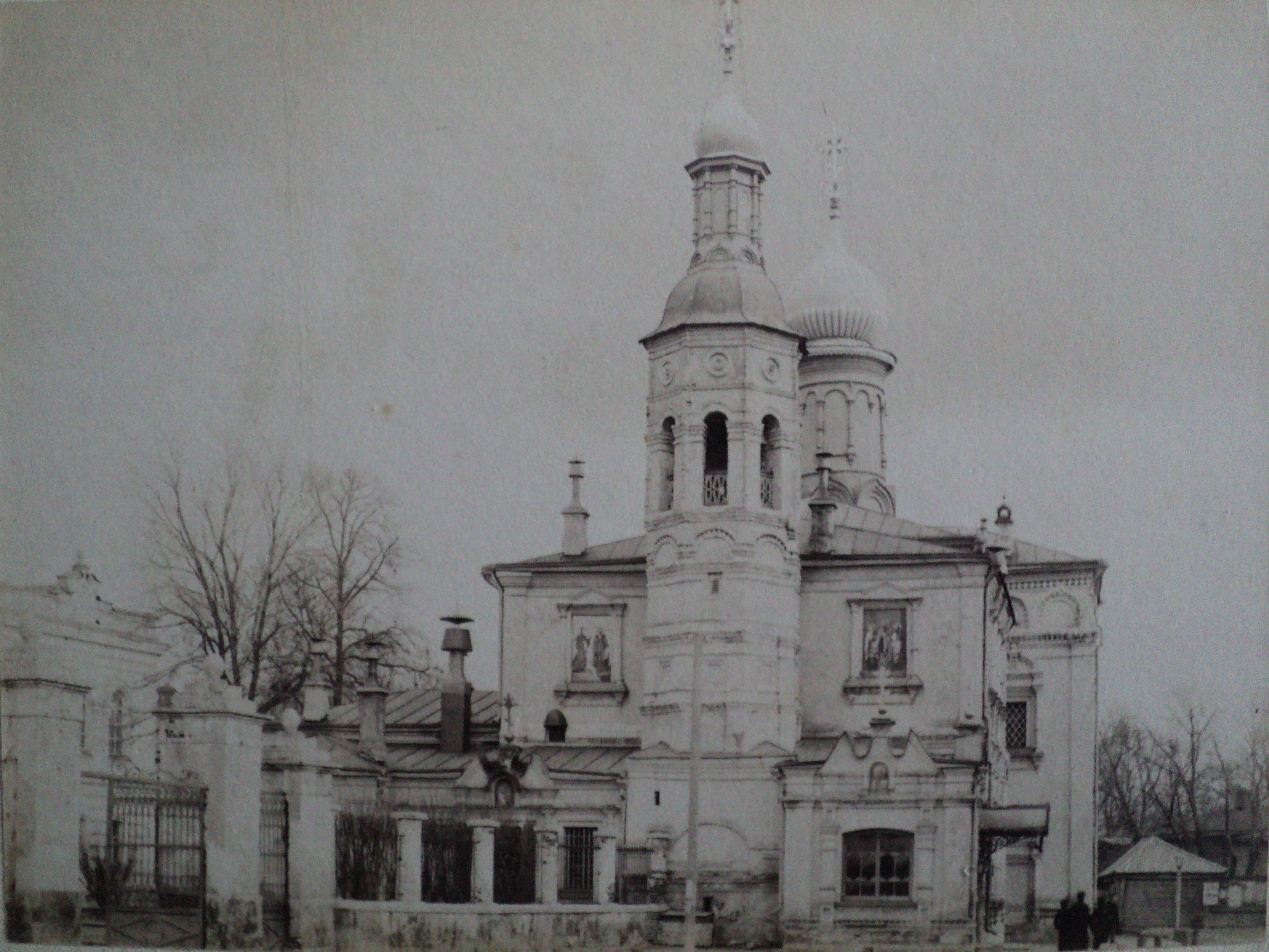 Храм Владимирской иконы Божьей Матери при Рязанской духовной семинарии