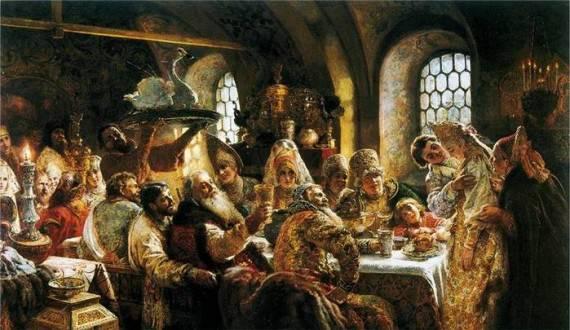 Русские князья гуляют