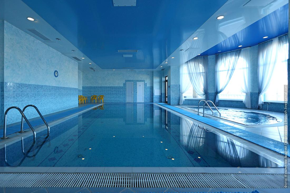 бассейн отель волжская ривьера в угличе фотография
