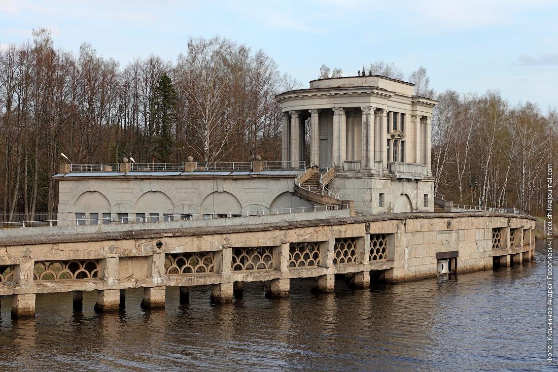 Заградительные ворота № 104 канала имени Москвы