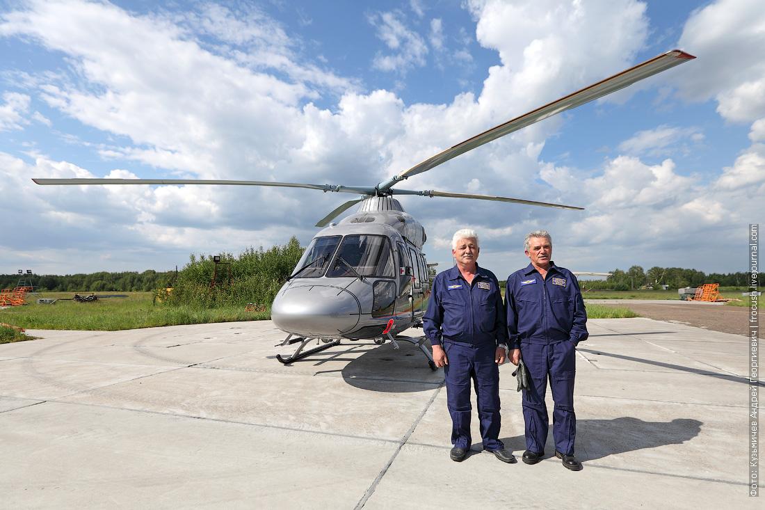 вертолет Ансат, Ганчаров Геннадий и Ресецкий Виктор