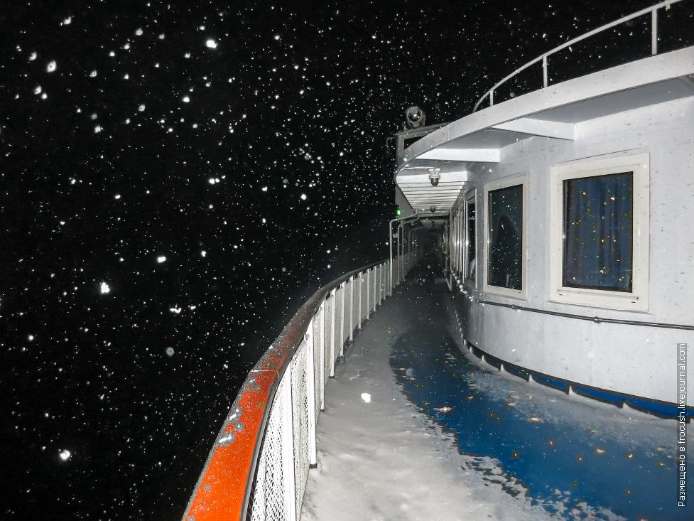 снежный круиз созвездие инфофлота теплоход некрасов закрытие навигации
