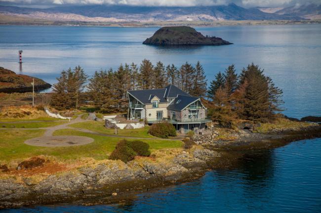 В Шотландии продают остров на берегу океана