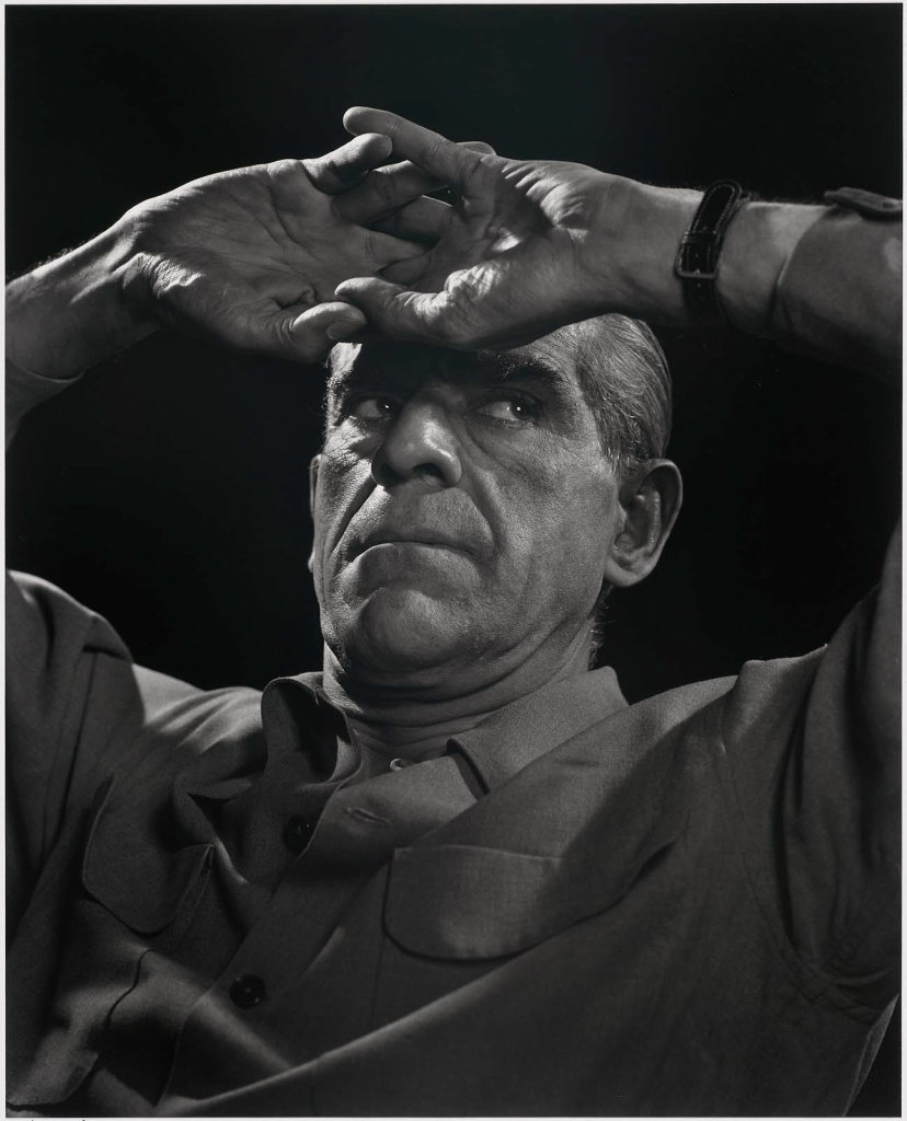 Борис Карлофф1946 Юсуф Карш Канадский фотограф 1908-2002