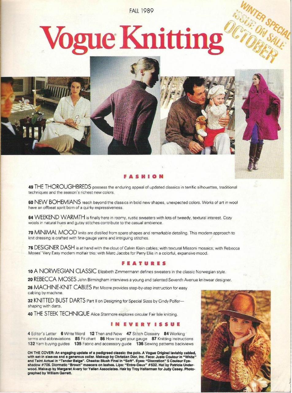 бурда моден 1989 10 вязание схемы