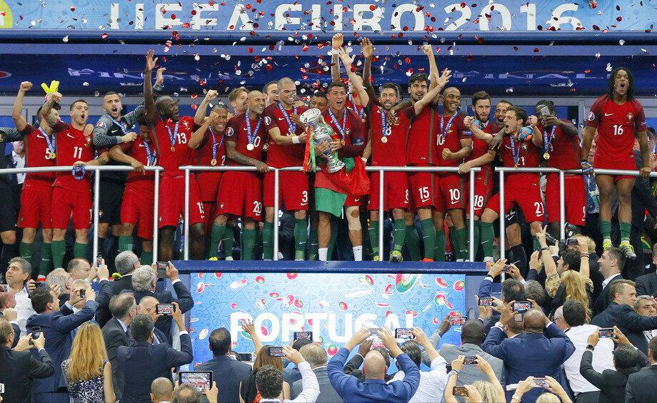 Чемпионат Европы. Финал. Франция - Португалия