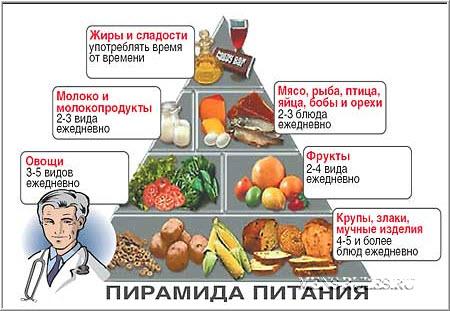 Правильное питание. Пирамида