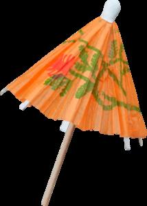 зонтики для коктелей