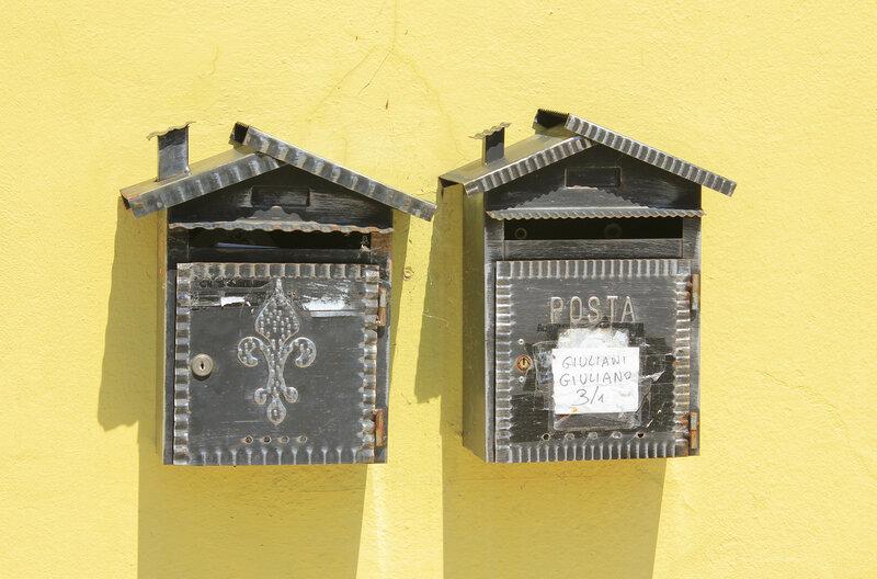 Фермерская жизнь: почтовые ящики