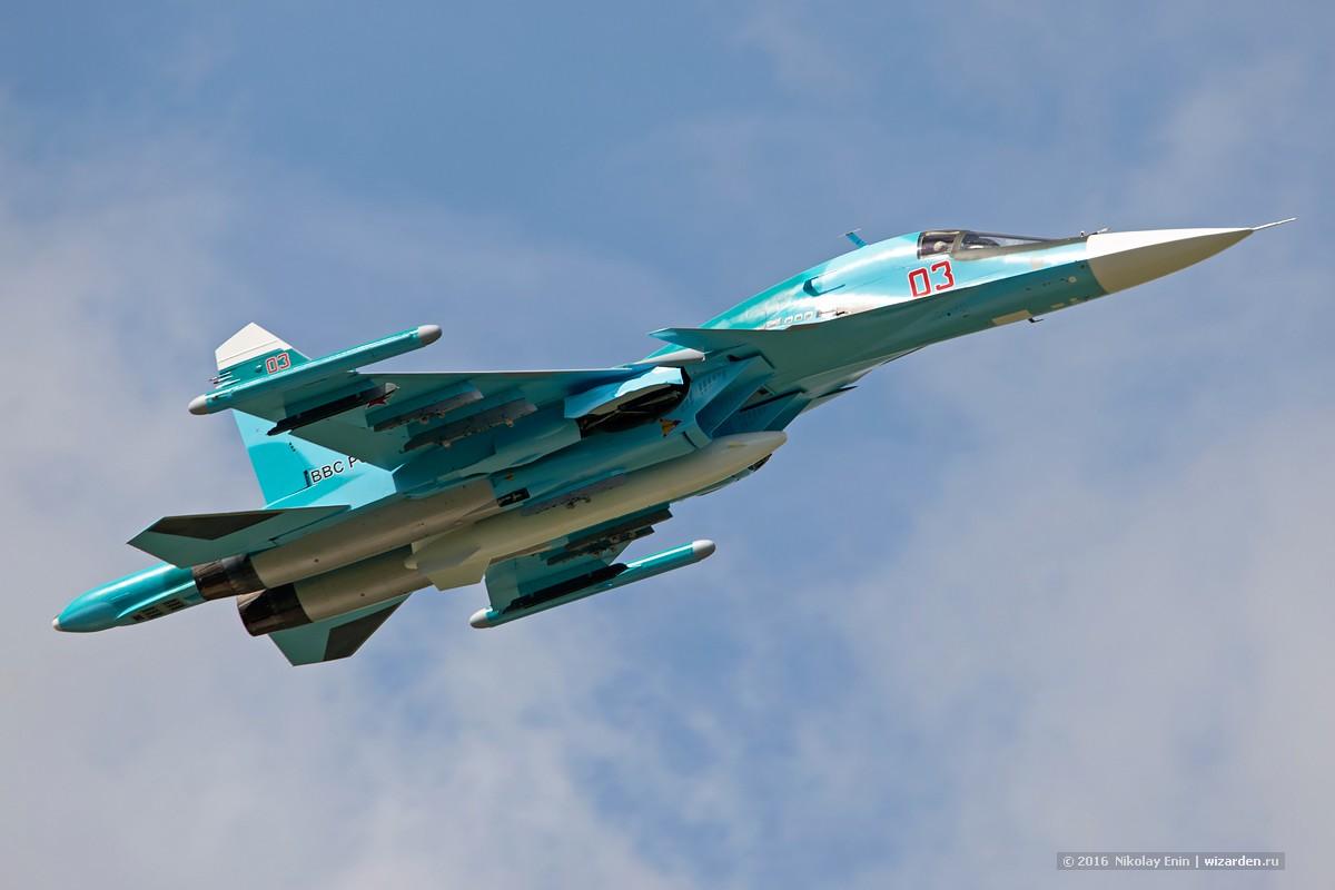 На Дальнем Востоке столкнулись 2 Су-34