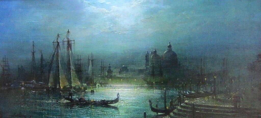 Авдеев Михаил Анатольевич ( родился в 1972 году). Прогулки по Венеции. 2