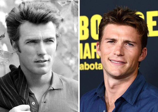 Клинт Иствуд — 31 год, Скотт Иствуд — 28 лет.