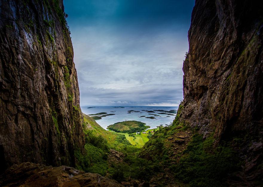 31. Гора Тургхаттен на острове Тургет, фюльке Нурланн