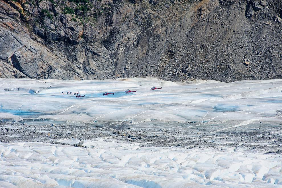 Ледники на Аляске