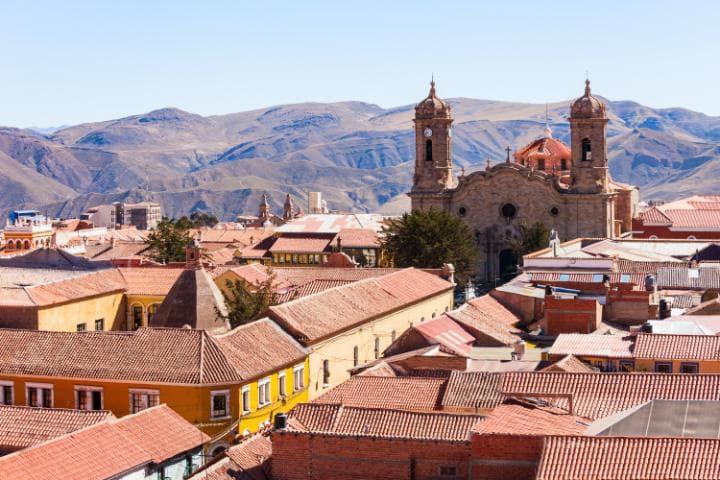 Потоси, Боливия. Под угрозой с 2014 года. Город находится в опасности из-за продолжающихся неконтрол