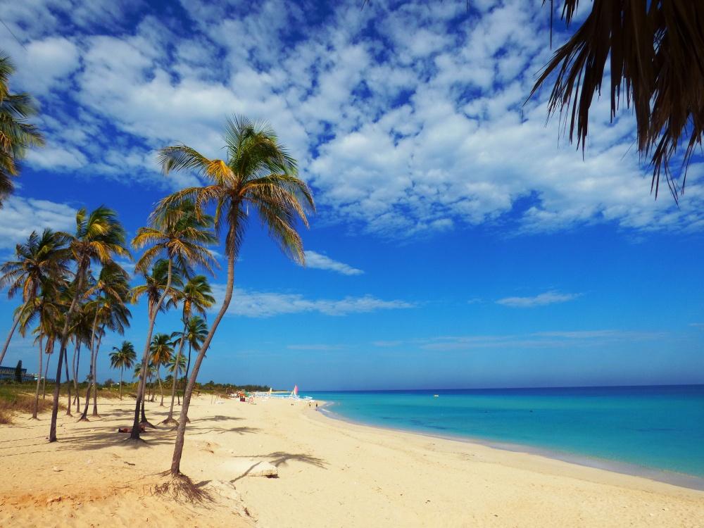 Лазурные воды Карибского моря.