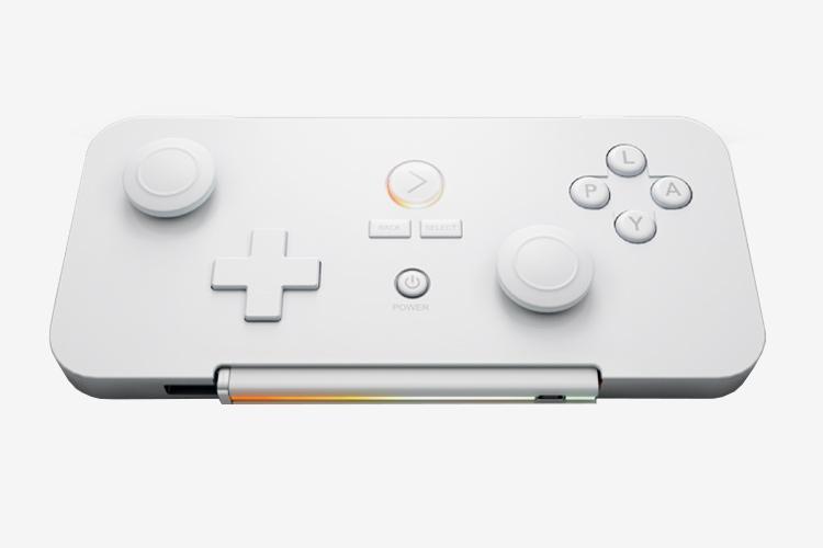 Что планировалось Маленькая портативная консоль для игр на Android, которая умещается в корпусе разм
