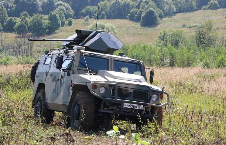 ВПК РФ представил неповторимое авто сдистанционным управлением