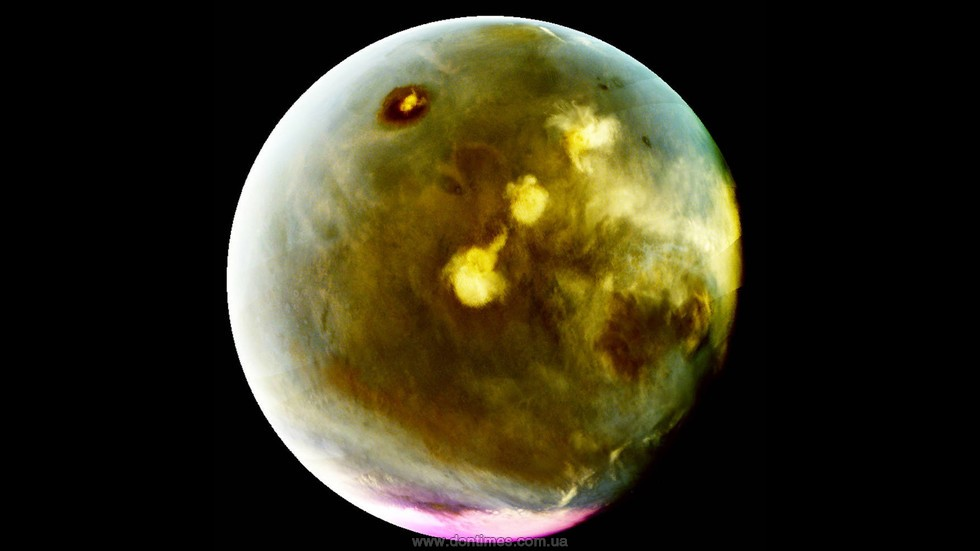Загадочное свечение планеты Марс вультрафиолете показали навидео