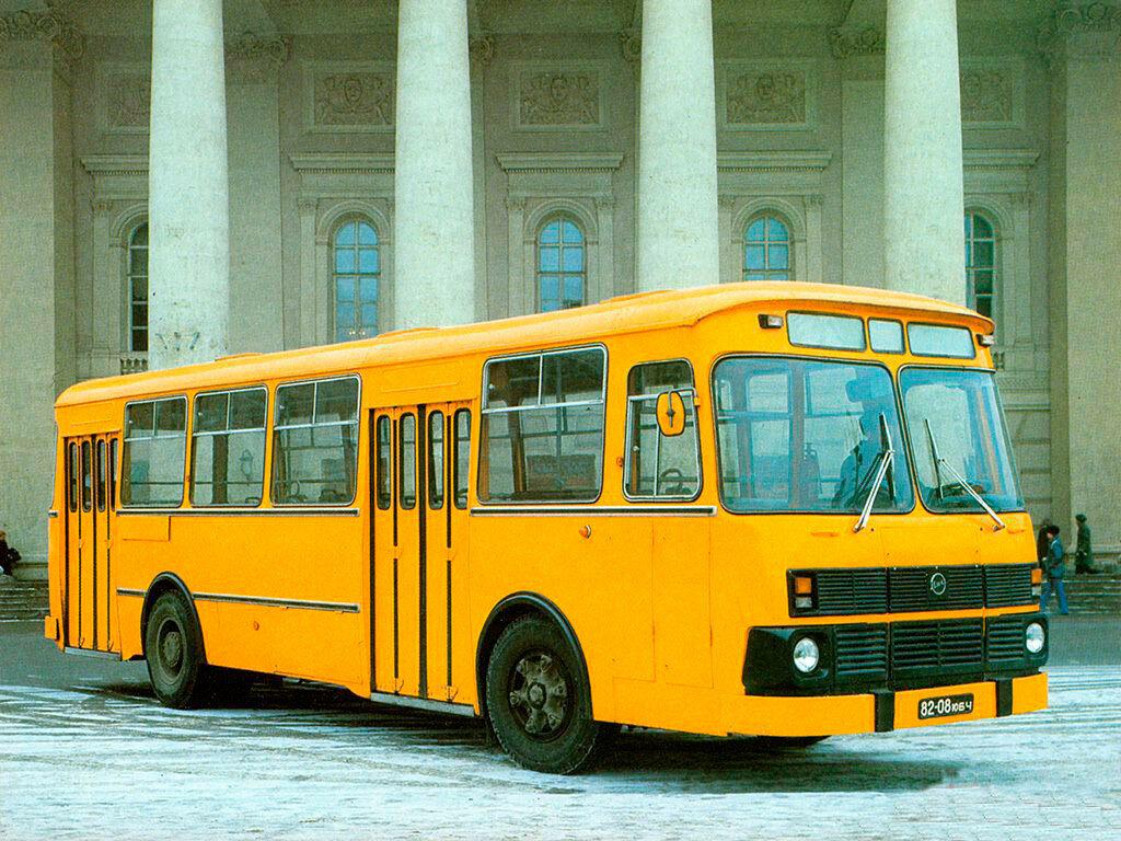 желтый автобус лиаз картинки