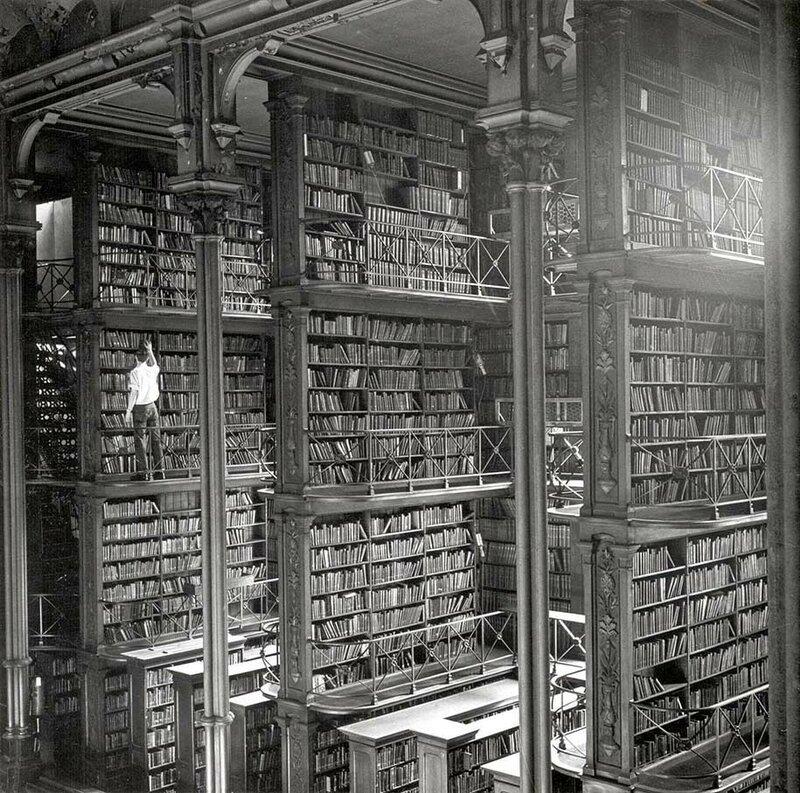 Публичная библиотека Цинциннати и округа Гамильтон, Огайо, США.