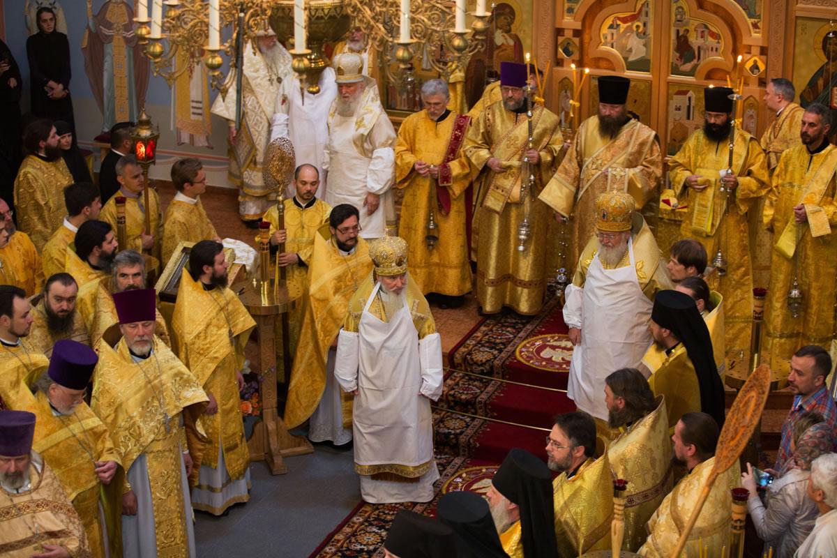 20170617-Архиерейский Собор Русской Зарубежной Церкви в Мюнхене завершился великим освящением кафедрального собора Германской епархии