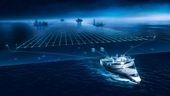 Ramform Titan - самый необычный современный корабль